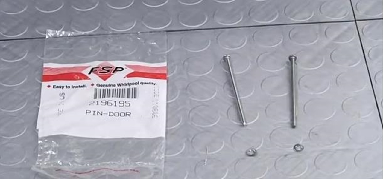 Replace a Refrigerator Dispenser Door Pin Kit