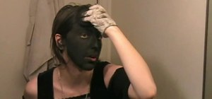 Make yourself look like a dark elf