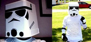 Cheap and Easy DIY Stormtrooper Helmet