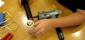 Make a silencer for the TF-11 airsoft gun