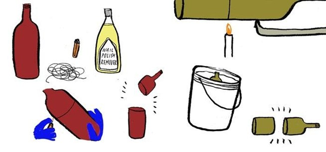 The secret yumiverse illustrated tips and tricks from for How to cut glass with fire