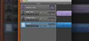 Create a podcast in GarageBand '09