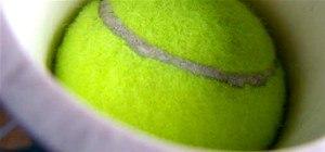 Make A Tennis Ball Cannon & More