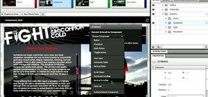 Create scroll panels in Adobe Flash Catalyst CS5