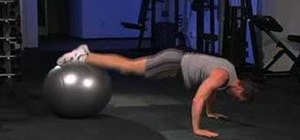 Do alternate power stability ball pikes and knee tucks