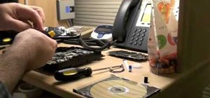 Reassemble a PS3 Blu-ray Disc drive