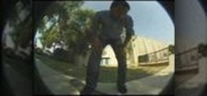 Hardflip on a skateboard