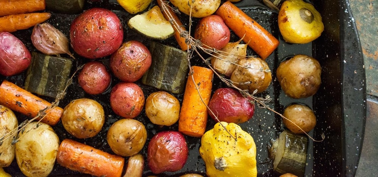 The Only 'Recipe' You'll Ever Need for Roasting Veggies
