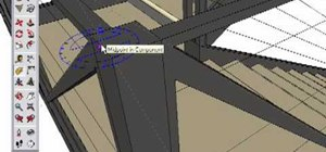 Use the protractor tool in Google SketchUp