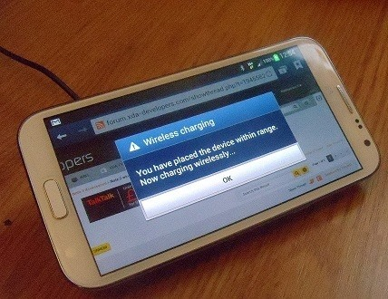 How to Add Inductive Charging Capabilities to a Samsung Galaxy Nexus, Note 2, and Other Android Devices
