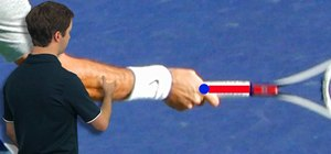 Practice with Roger Federer's Eastern forehand grip