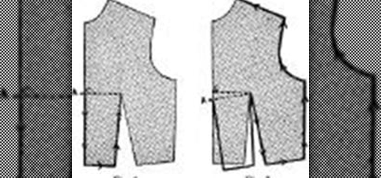 4625c3f22b How to Draft a Basic Bodice Pattern « Sewing   Embroidery    WonderHowTo