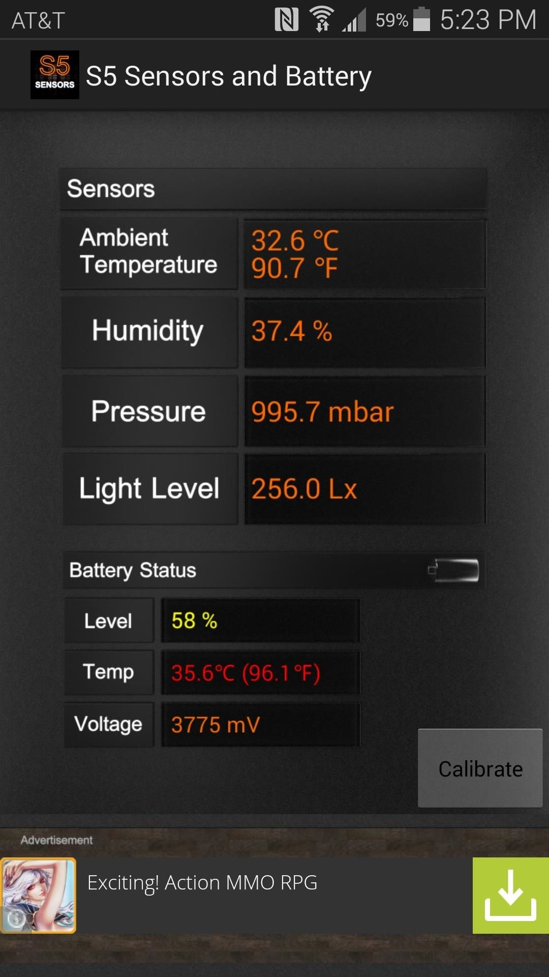 Get Truly Local Weather Readings from Your Galaxy S5's Built-in Sensors