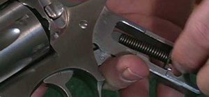 Reassemble your Ruger double-action revolver