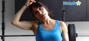 Do a lateral neck flexion stretch exercise