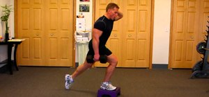 Do a one-legged dumbell squat to tone glutes and quads