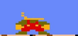 Draw the original 8-bit Mario