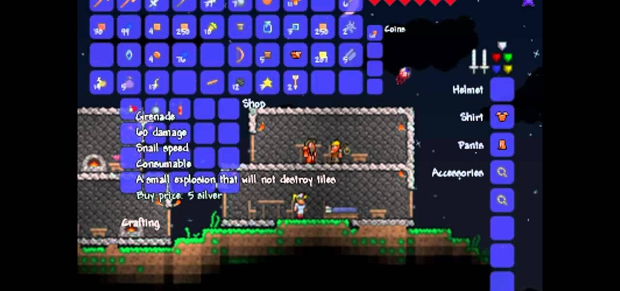 How To Get A Demolitionist To Your House In Terraria Pc