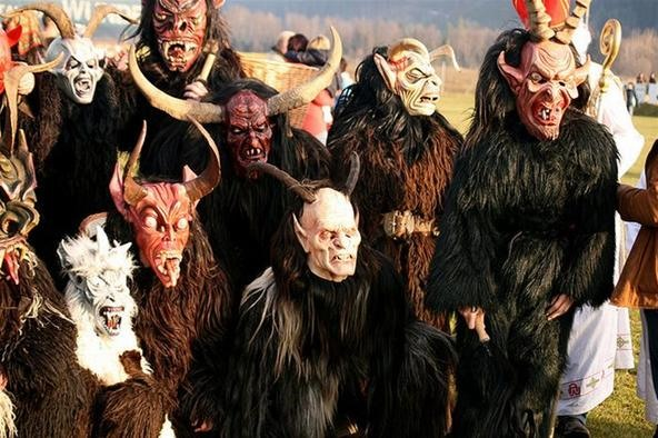 Krampus, the Evil Face of Christmas