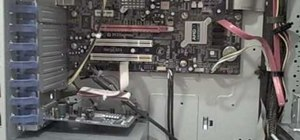 Install a Nvidia GeForce 8600 GT graphics card