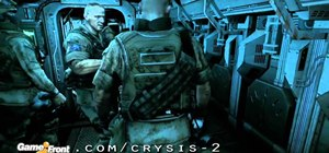 Beat the first mission of Crysis 2 'In The Deep End'