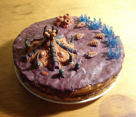 Starcraft Zerg Hive Cake!