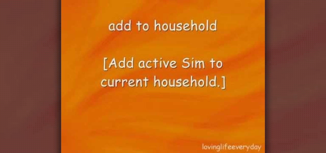 sims 3 cheats for pc