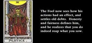 Learn tarot card archetypes of the fool's journey