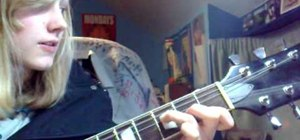 """Play Kings of Leon's """"Use Somebody"""" on acoustic guitar"""