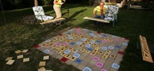 I wish we had Lawn Scrabble.