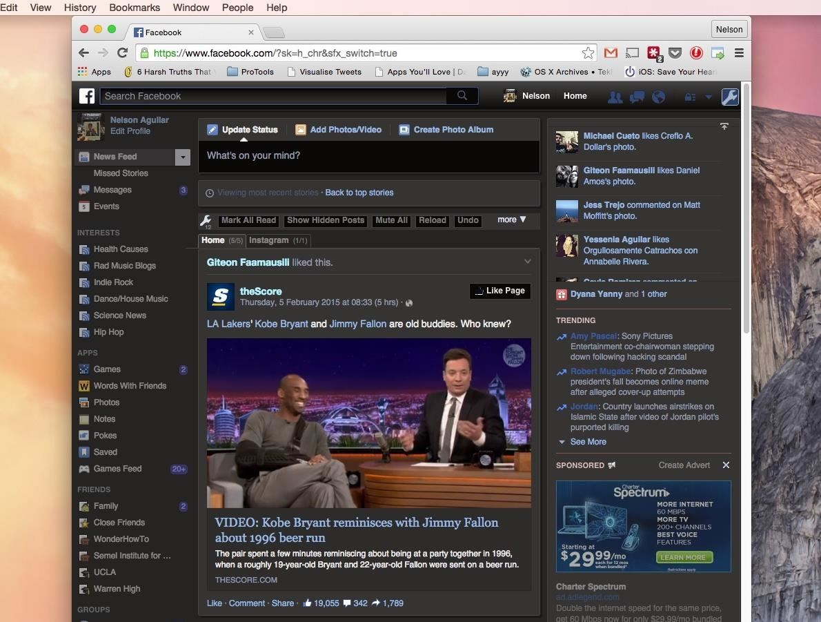 How to Facebook Better Using Google Chrome