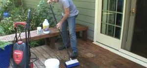Seal your outdoor deck