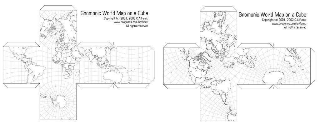 Cuboid Globe