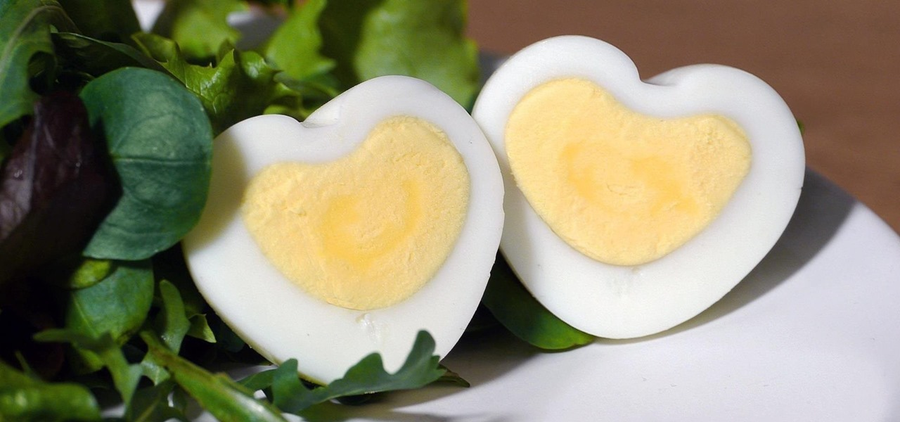 Make a Heart-Shaped Hard-Boiled Egg for Valentine's Day