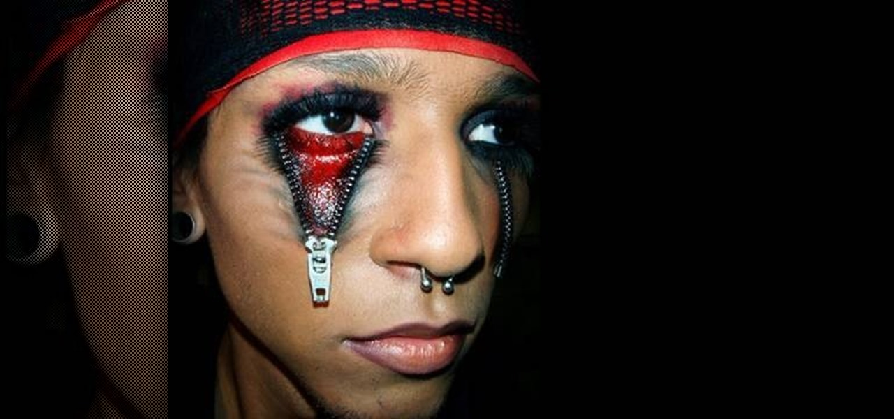 the gallery for gt gothic eye makeup for men