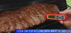 Grill with basic tips from Lowe's