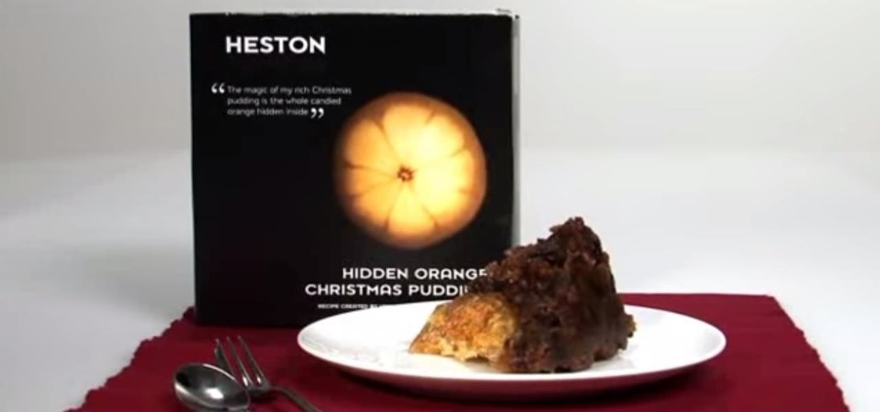 Replicate the Famous Hidden Orange Christmas Pudding by Heston