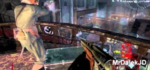Exploit a glitch in Kino Der Toten to make a zombie barrier in CoD: Black Ops