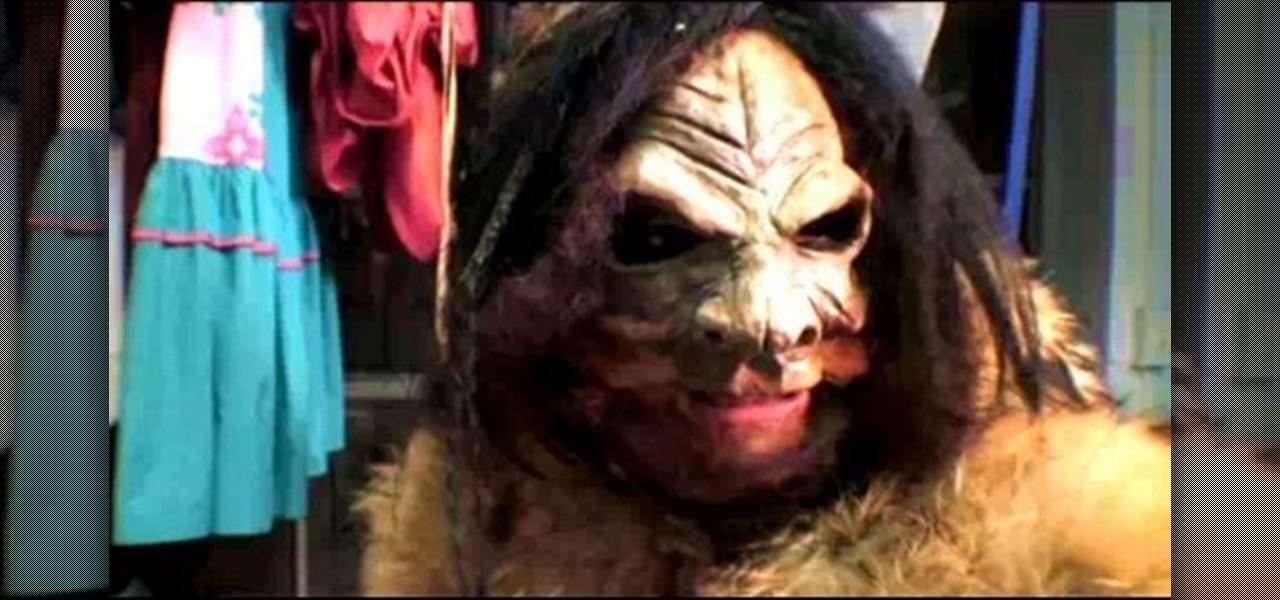 How to Make a Halloween Bigfoot costume with Threadbanger ...