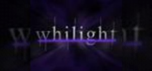 "Create the ""Twilight"" text effect in Photoshop"