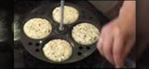 Make Indian rava idli cakes with Cream of wheat