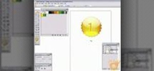 Create a golden award badge in Illustrator