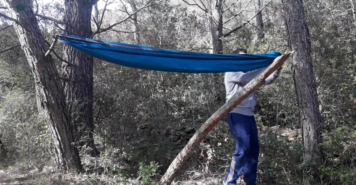 How to Install Hammock When Camping