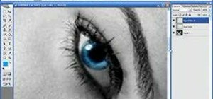Change eye color with Photoshop