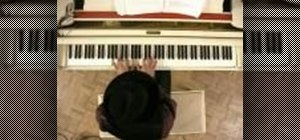 Improvise the blues scale on the piano