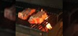 Grill with wood for a tastier meal