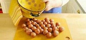 Make a potato salad with a lemon vinaigrette
