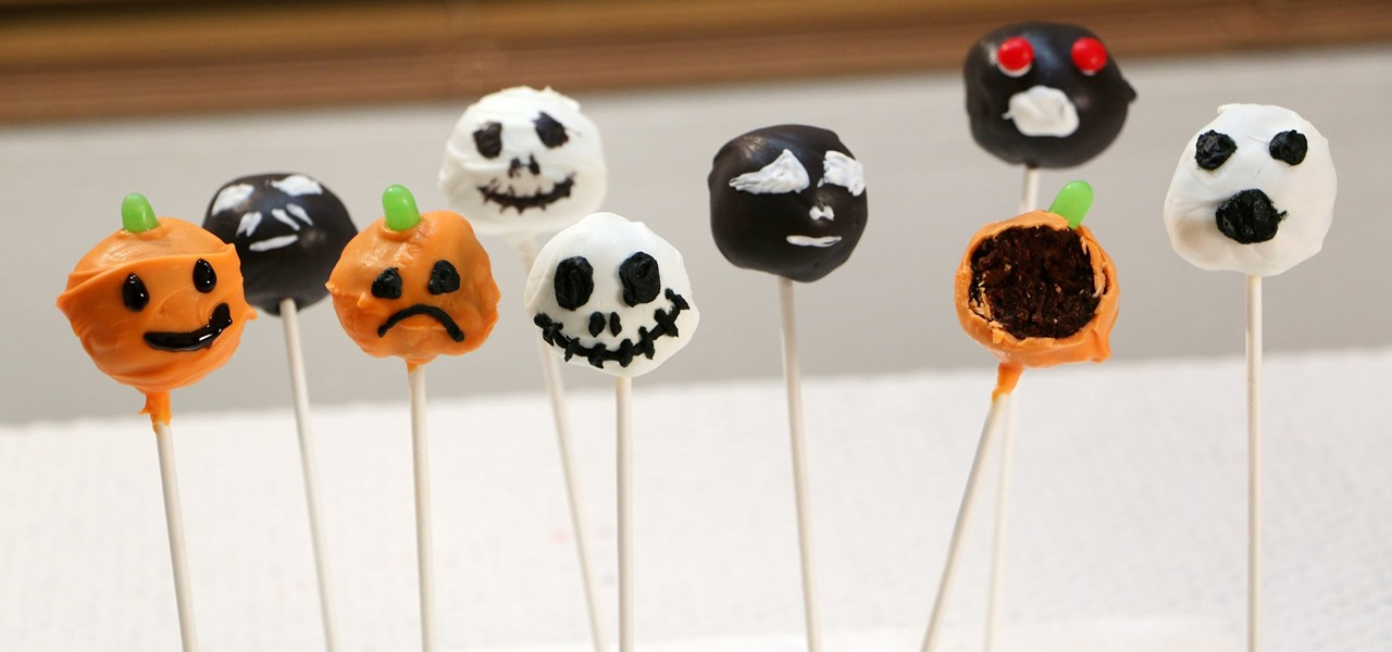 Make Halloween Brownie Cake Pops
