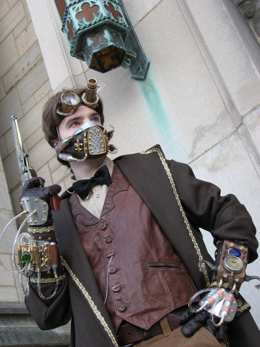 Using Visual Cues to Make More Expressive Steampunk Outfits