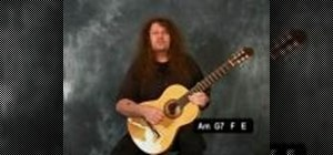 Play triplets, flamenco style on the acoustic guitar